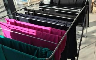 Stretchhoezen en topcovers voor partytafels wassen drogen