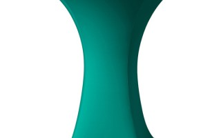 Stretch hoezen huren voor partytafels: groene hoezen beschikbaar