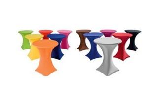 ENKEL Stretch hoezen huren voor partytafels